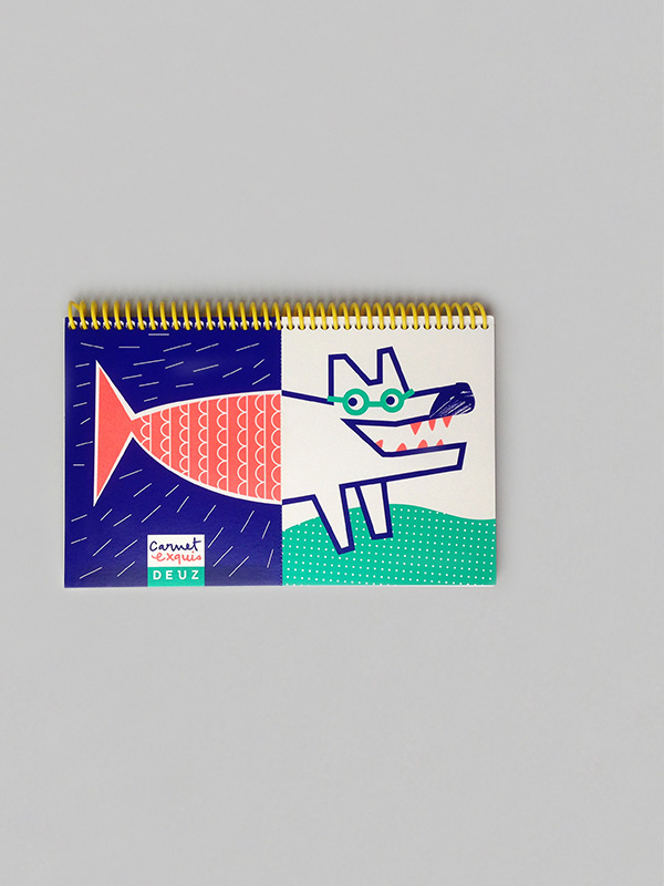 Mix & Match Sketchbook - Wolf