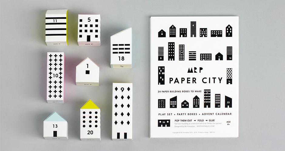 Mr P Paper City