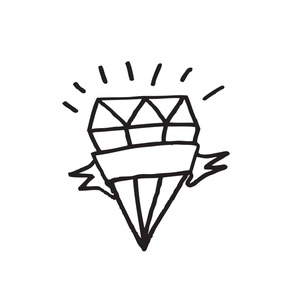 Tattyoo Diamond Temporary Tattoo