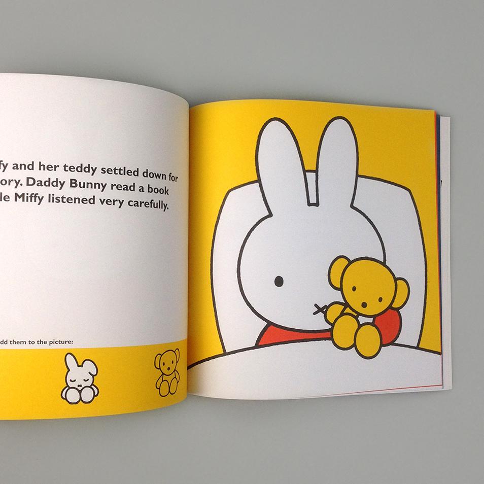 Miffy S Bedtime Sticker Book Moon Picnic Uk