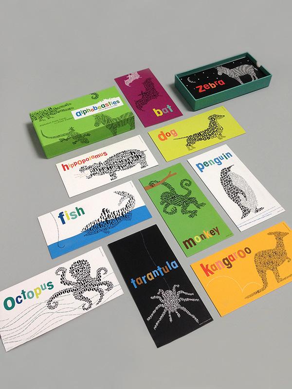 Alphabeasties Alphabet Flashcards