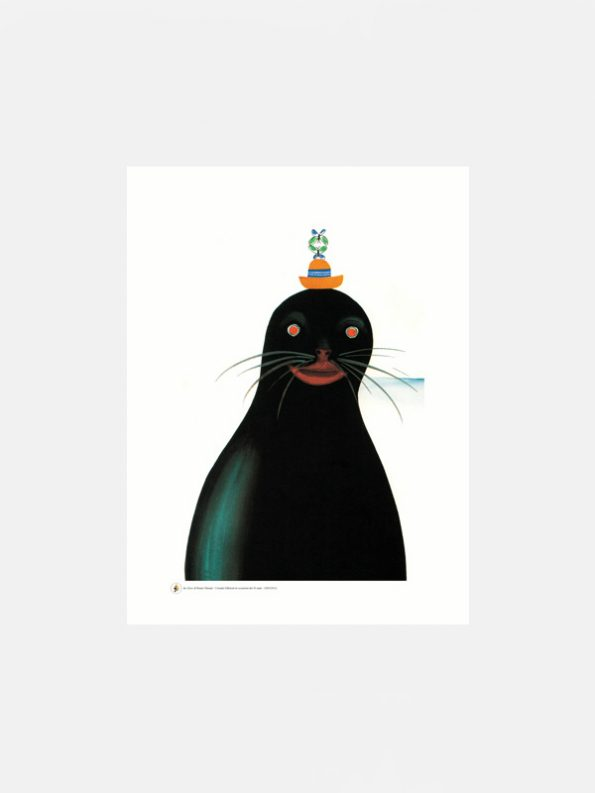 Large Seal poster by Bruno Munari