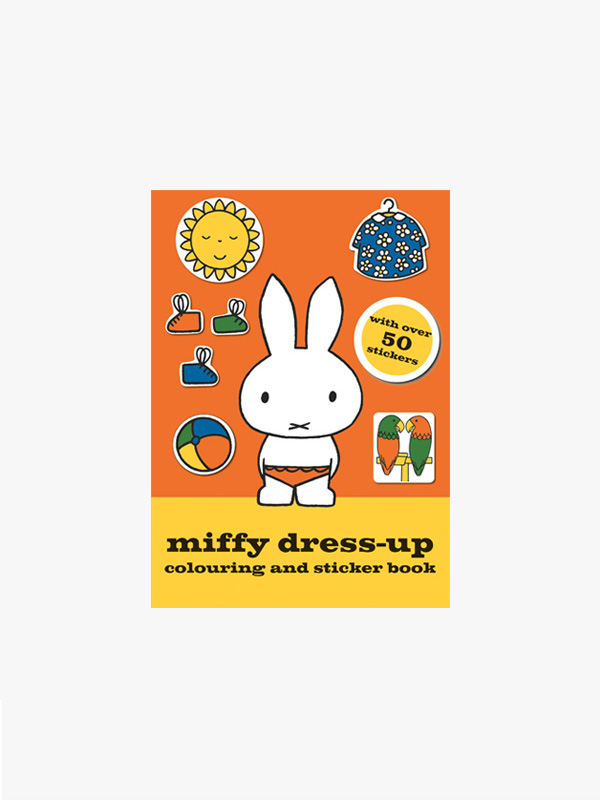 Miffy Dress-up Colouring Sticker Book