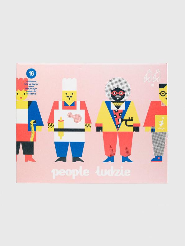 Cardboard People by Ringo
