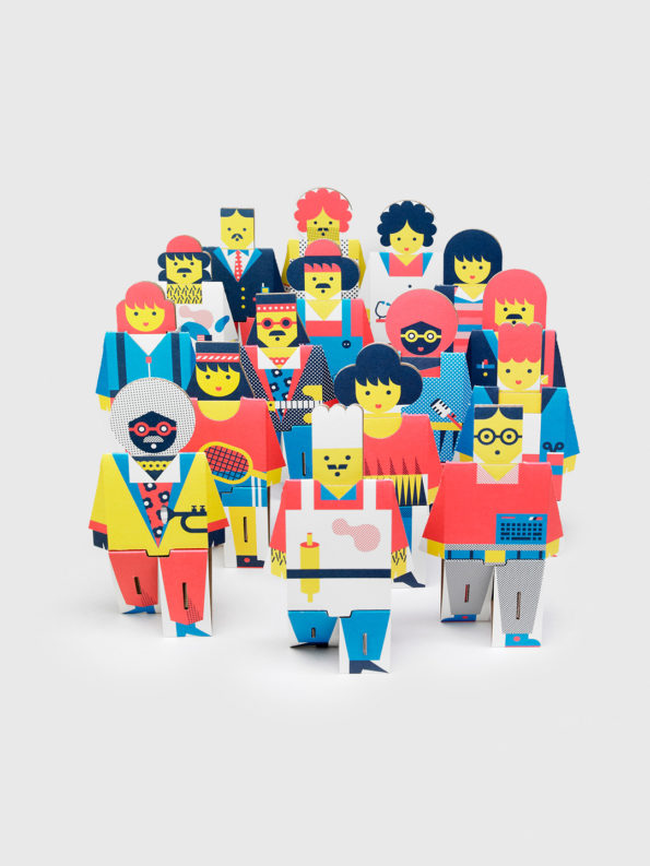Cardboard People