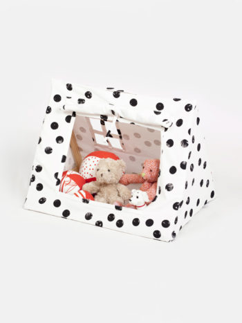 Deuz Mini Tent - Black Dot