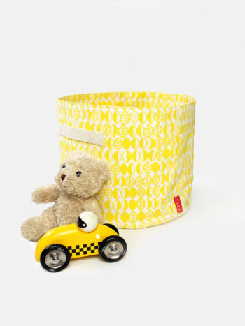 Deuz Storage Basket Yellow