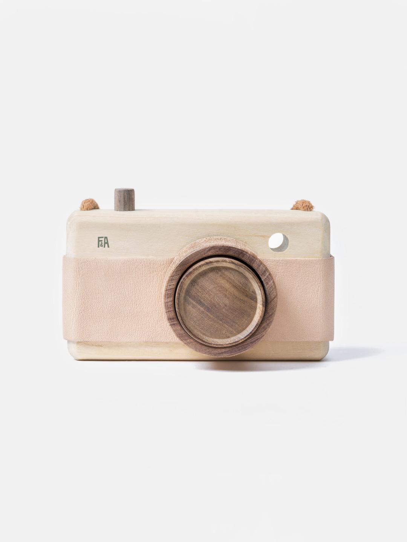 Wooden Camera - Pink