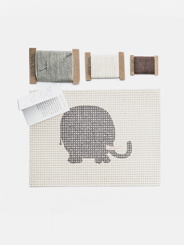 Cross Stitch Kit - Elephant