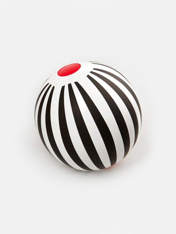 Beach Ball – Black Stripes