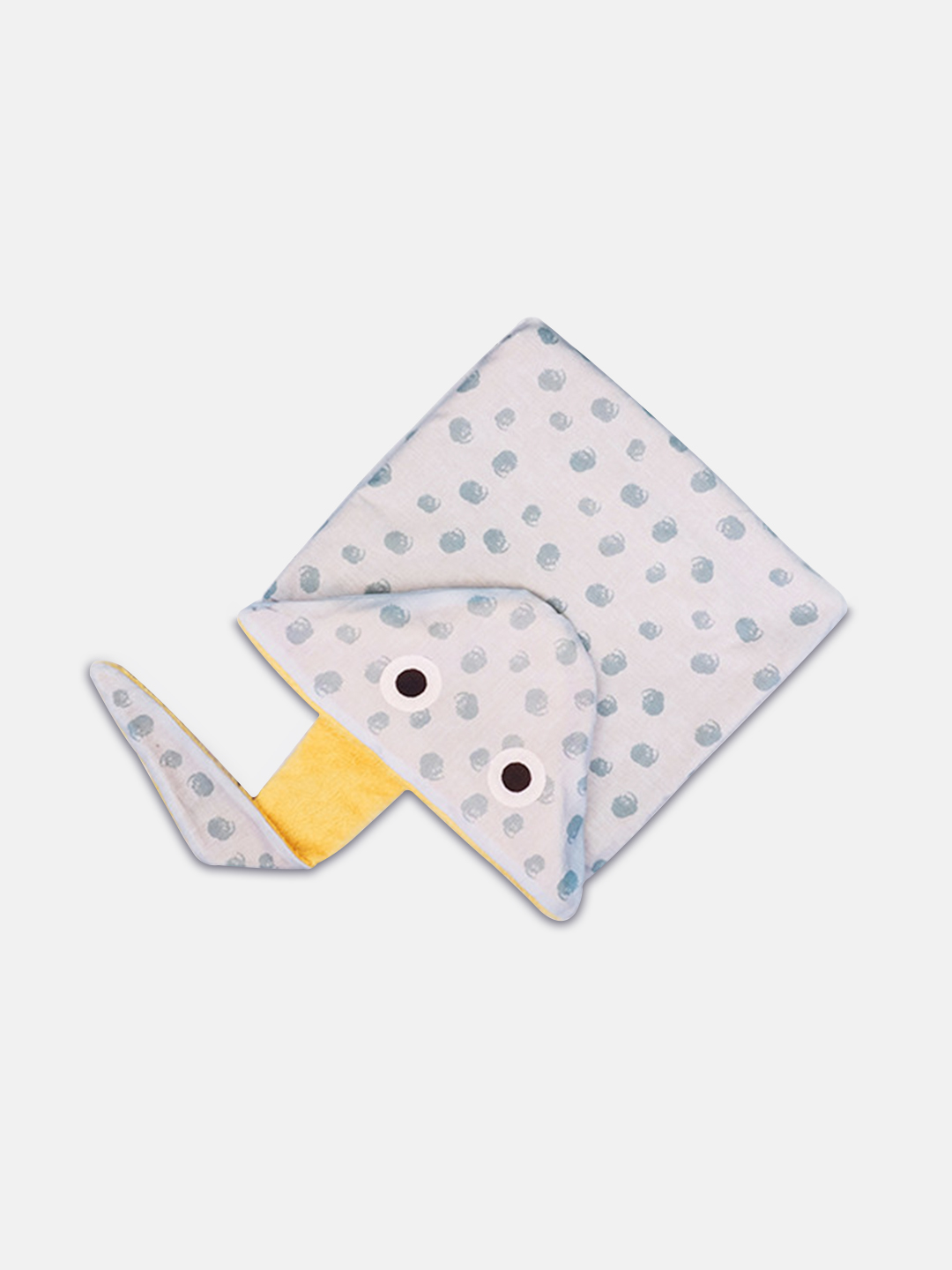 Stingray Hooded Kids Towel