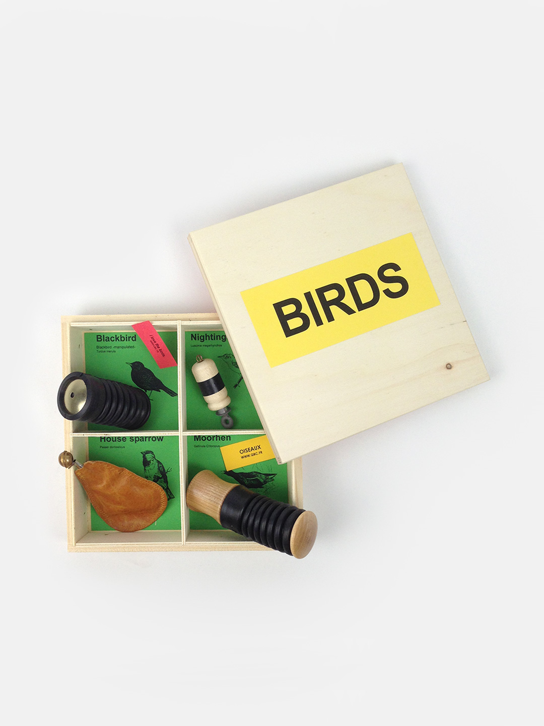 4 Manipulate Bird Calls Gift Box