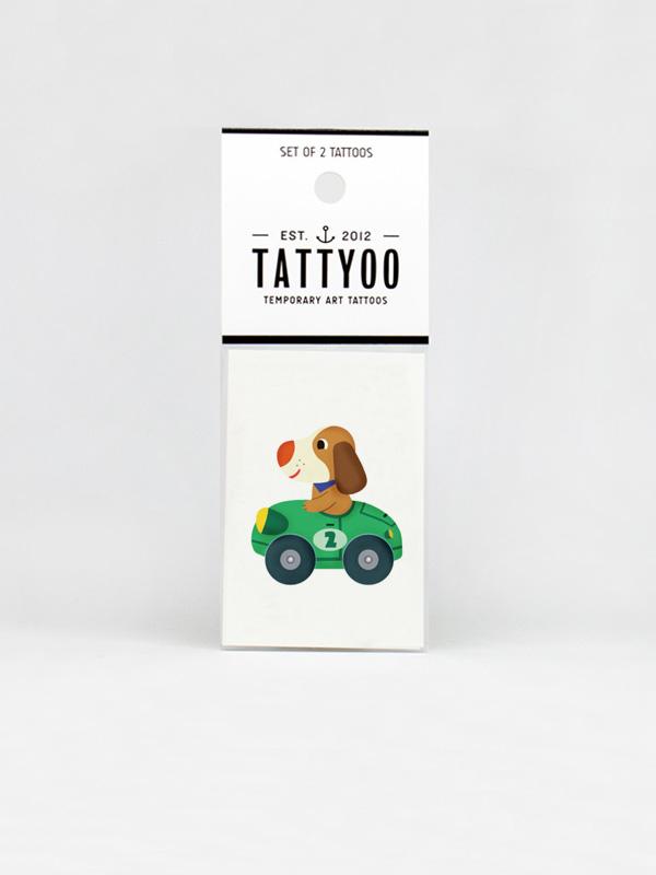 Basilou Dog Temporary Tattoo
