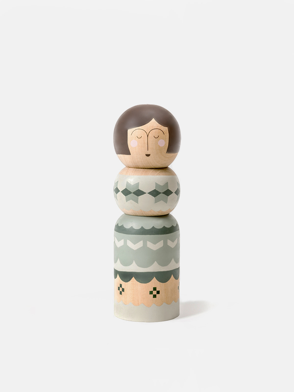Kokeshi Doll - Green