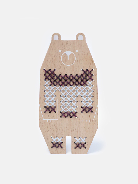 Cross Stitch Friends - Bear