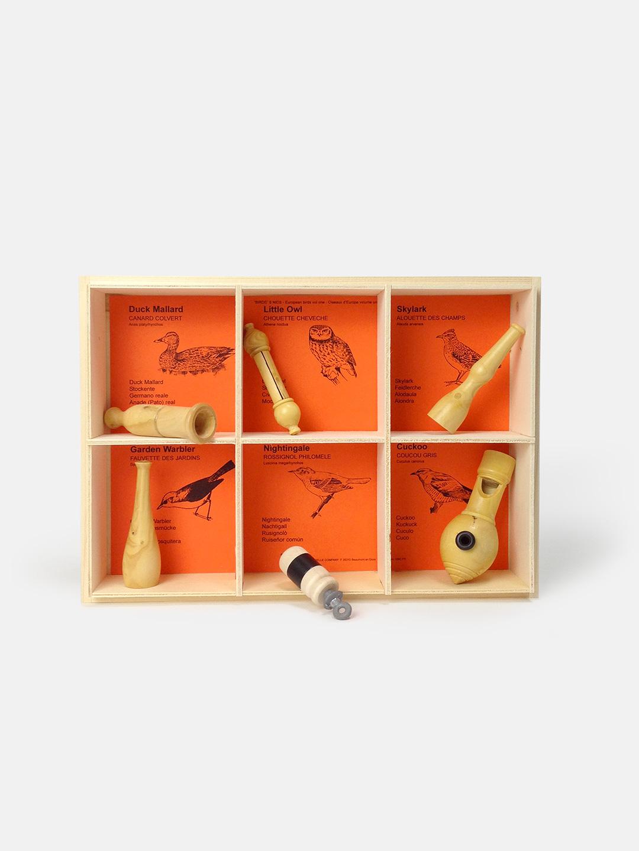 6 Birds of Europe Bird Calls Gift Box