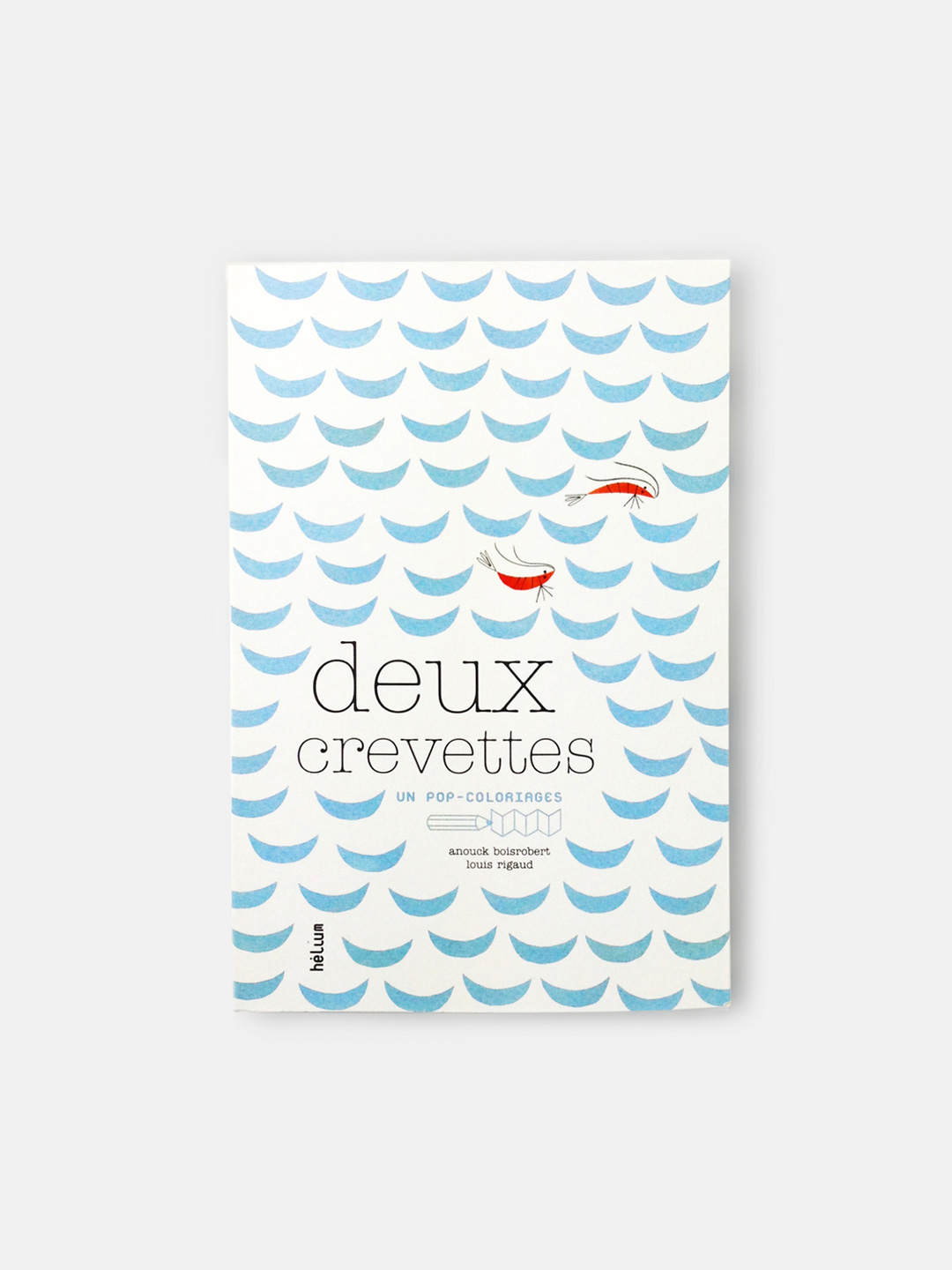 Deux Crevettes  Pop-Up Colouring