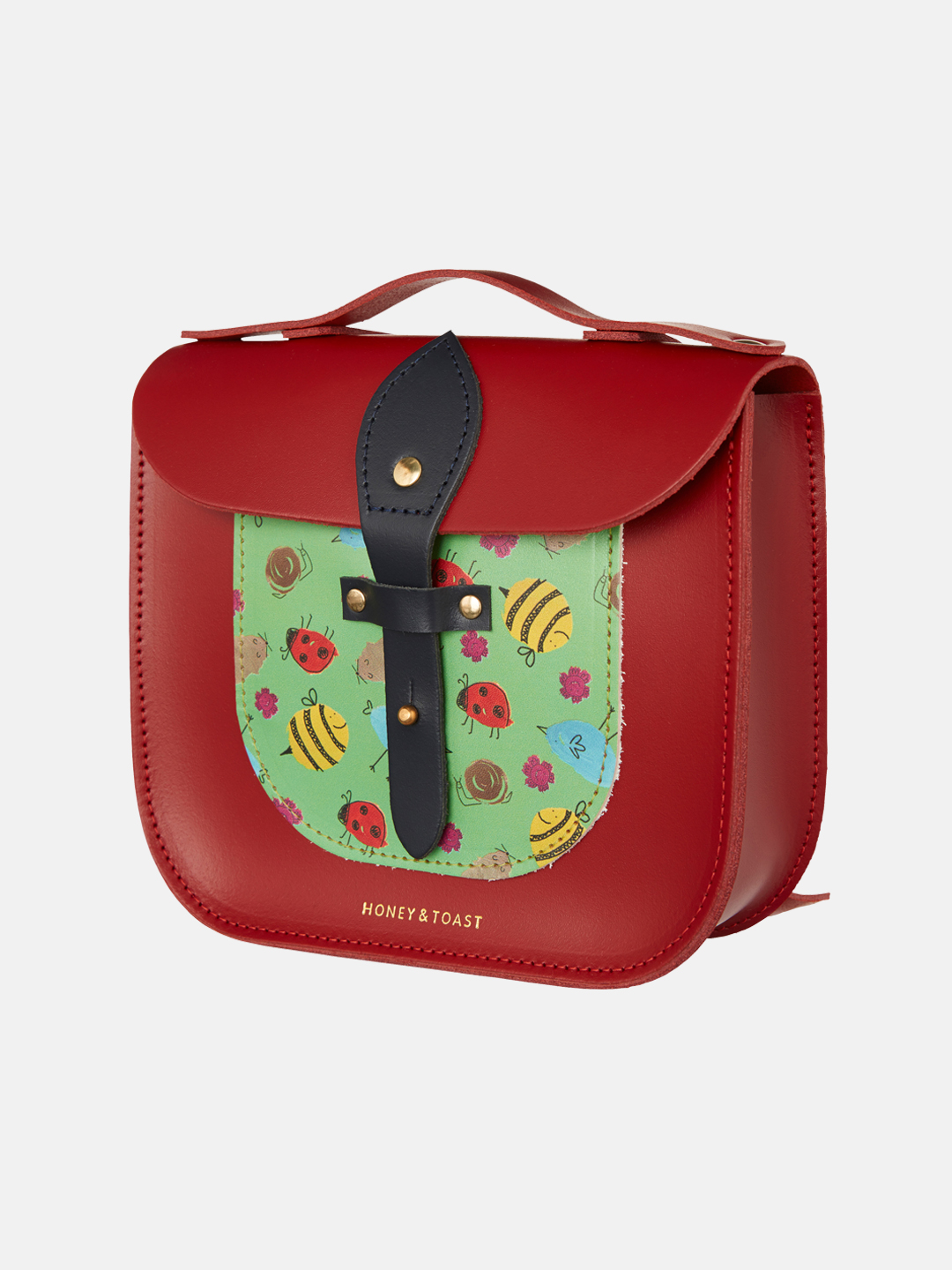 Rocket Scooter Satchel - Garden