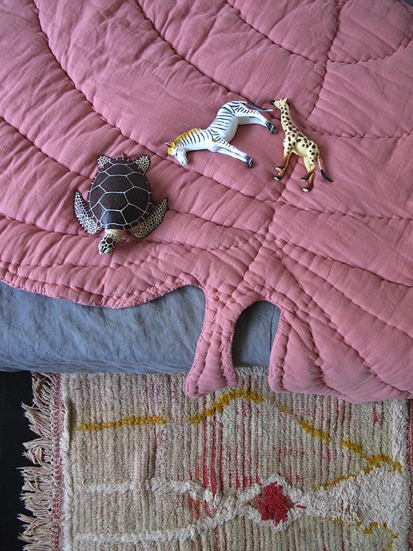 Leaf Blanket - Rosa