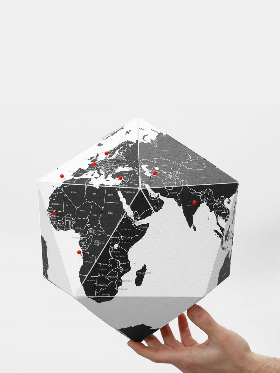 HERE The Personal Globe by Countries - Large