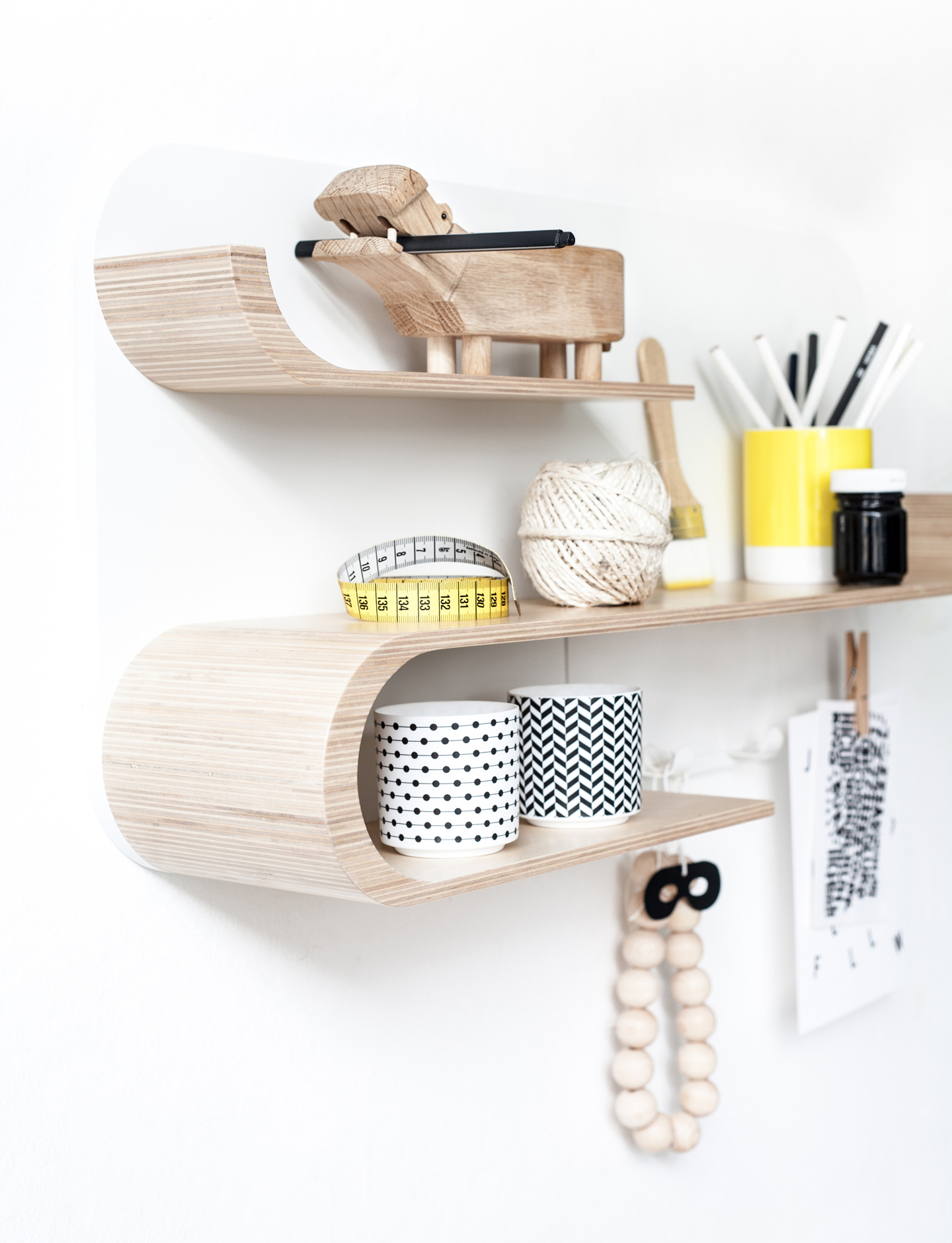 M Shelf - Natural / White