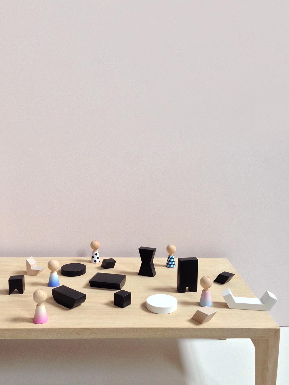 Mini Furniture - Black