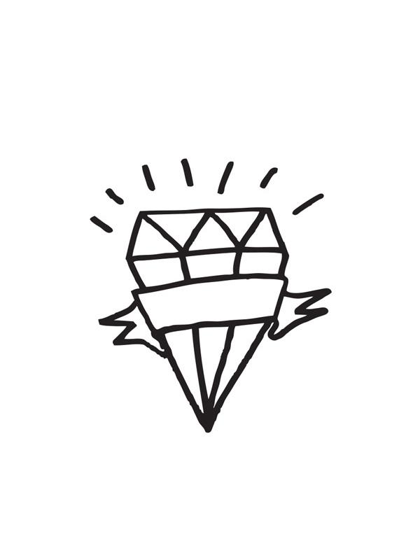 Tattyoo Diamond Temporary Tattoo
