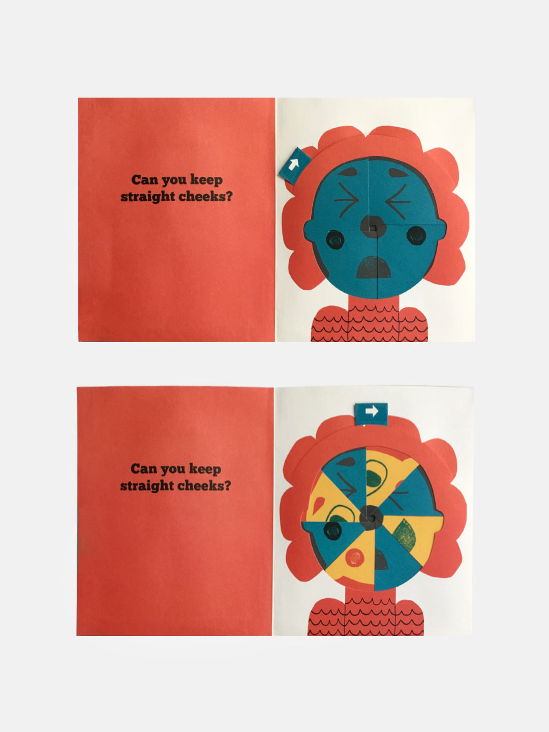 Can You Keep A Straight Face? Flip Flap Book
