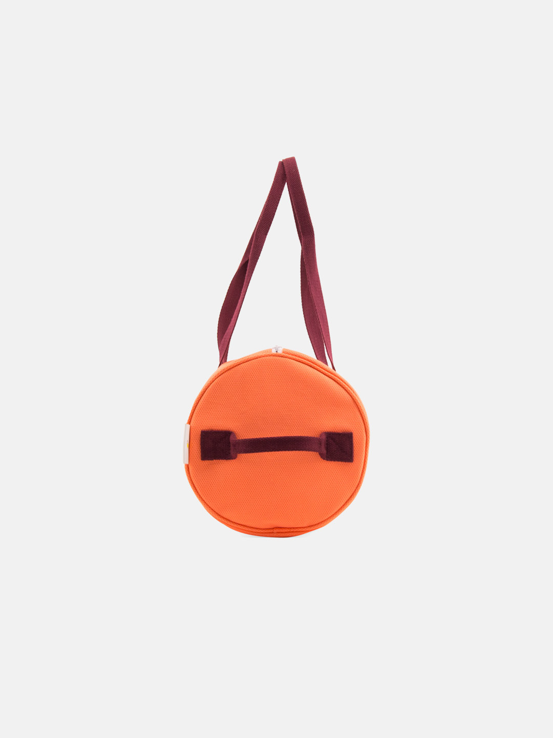 Duffle bag - vertical blossom pink & neon orange