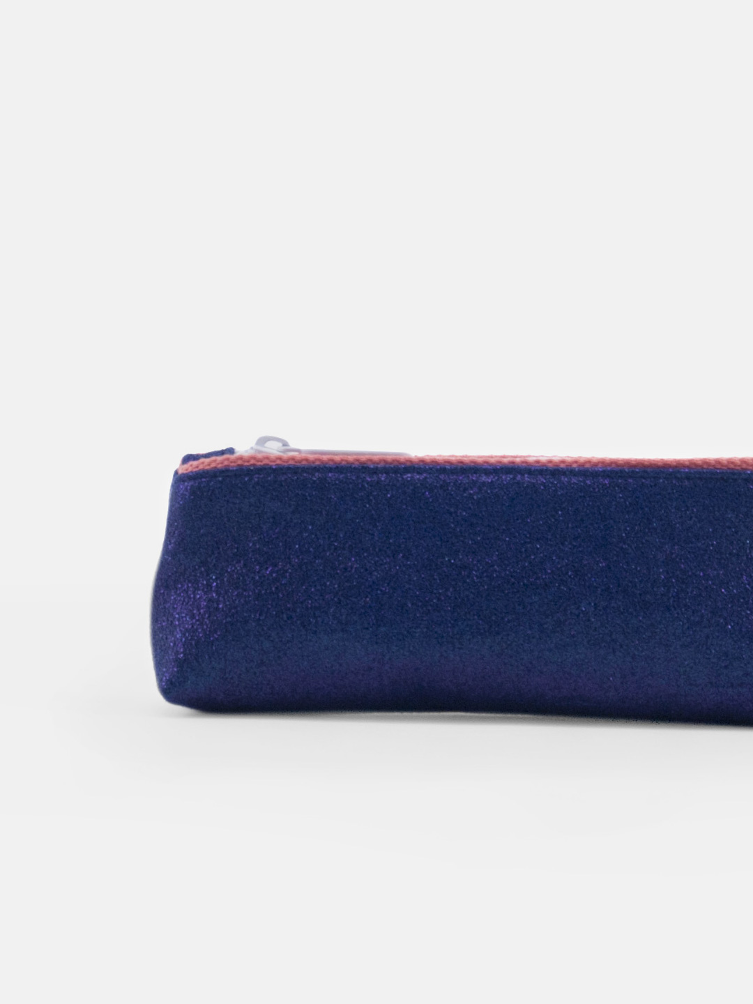 Pencil case - glitter midnight blue