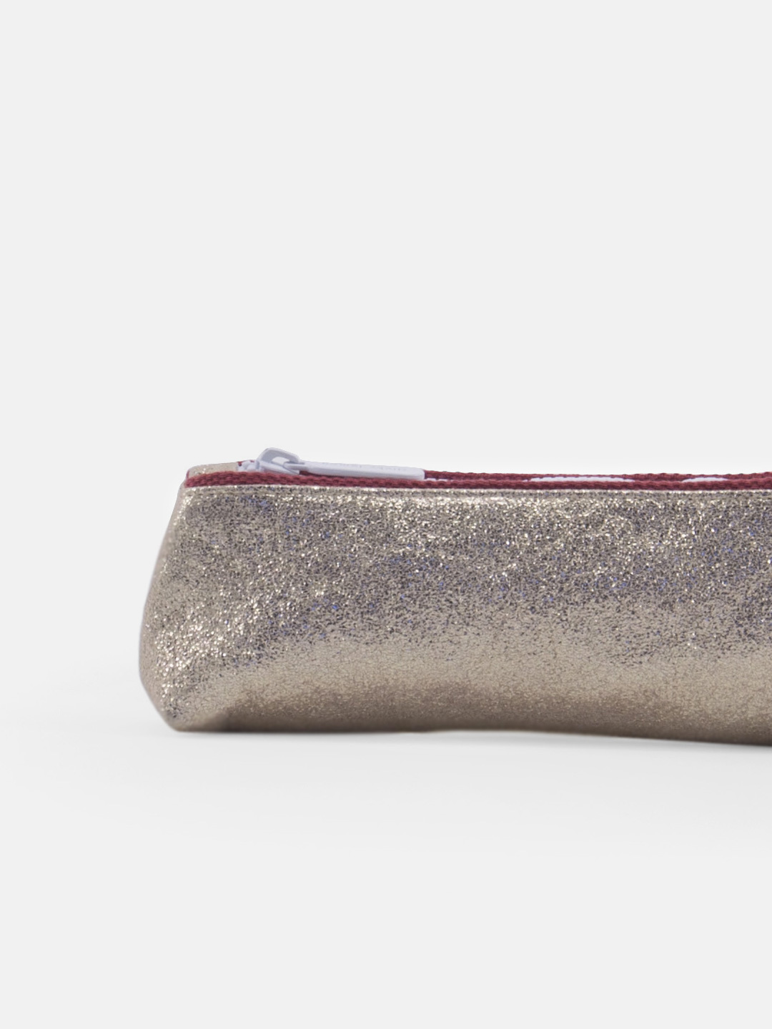 Pencil case - glitter champagne