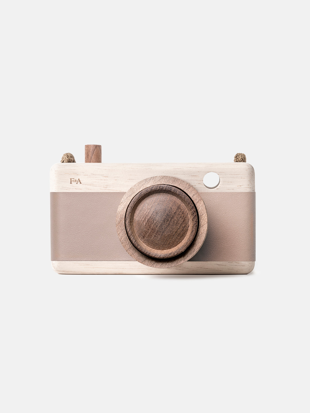 Wooden Camera - Cat's Paw Pink