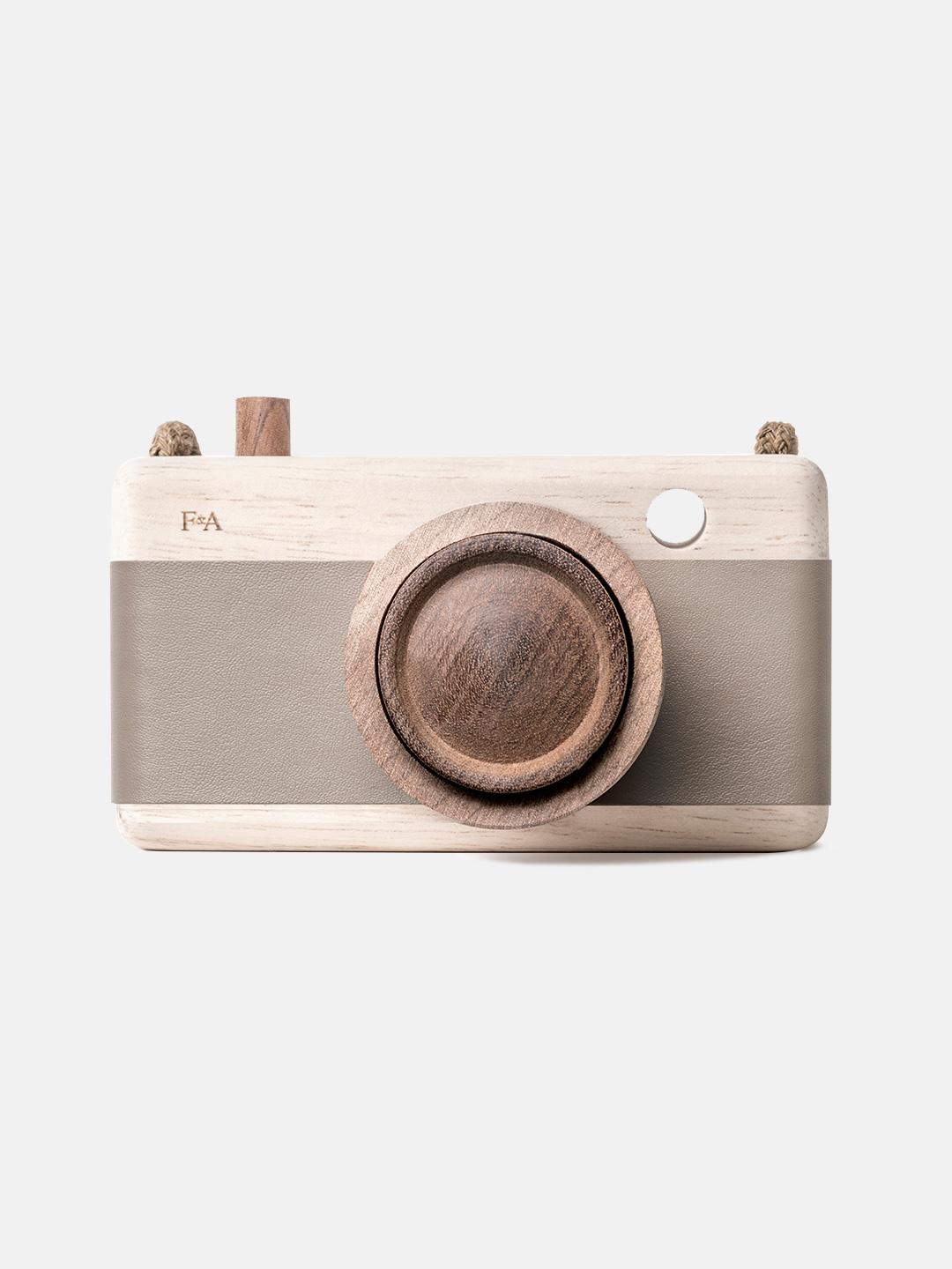 Wooden Camera - River Pebble Grey Mink