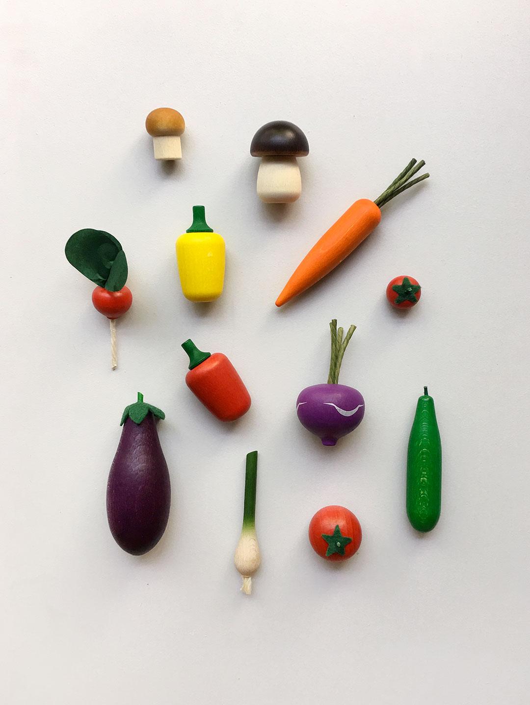 Wooden Vegetable - Turnip