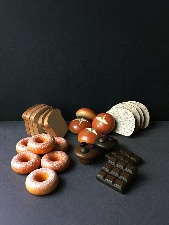 Wooden Food - Slice of Bread