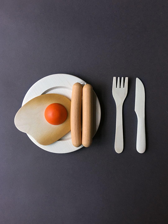 Wooden Food - Wiener Sausages