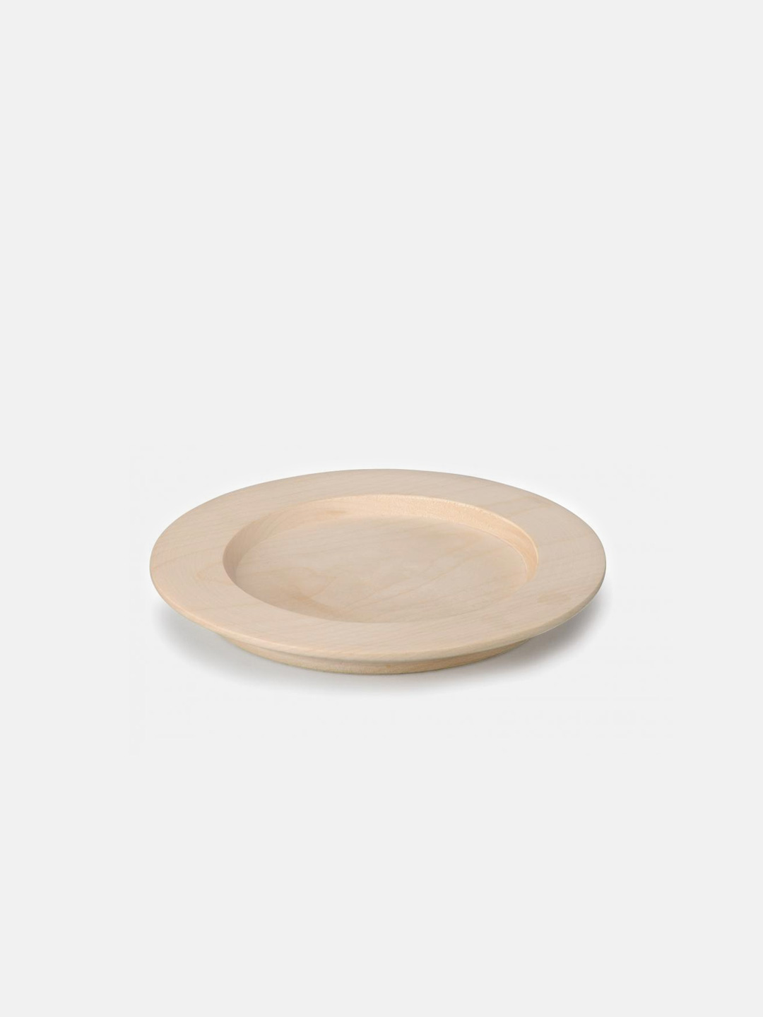 Play Kitchen Wooden Plate