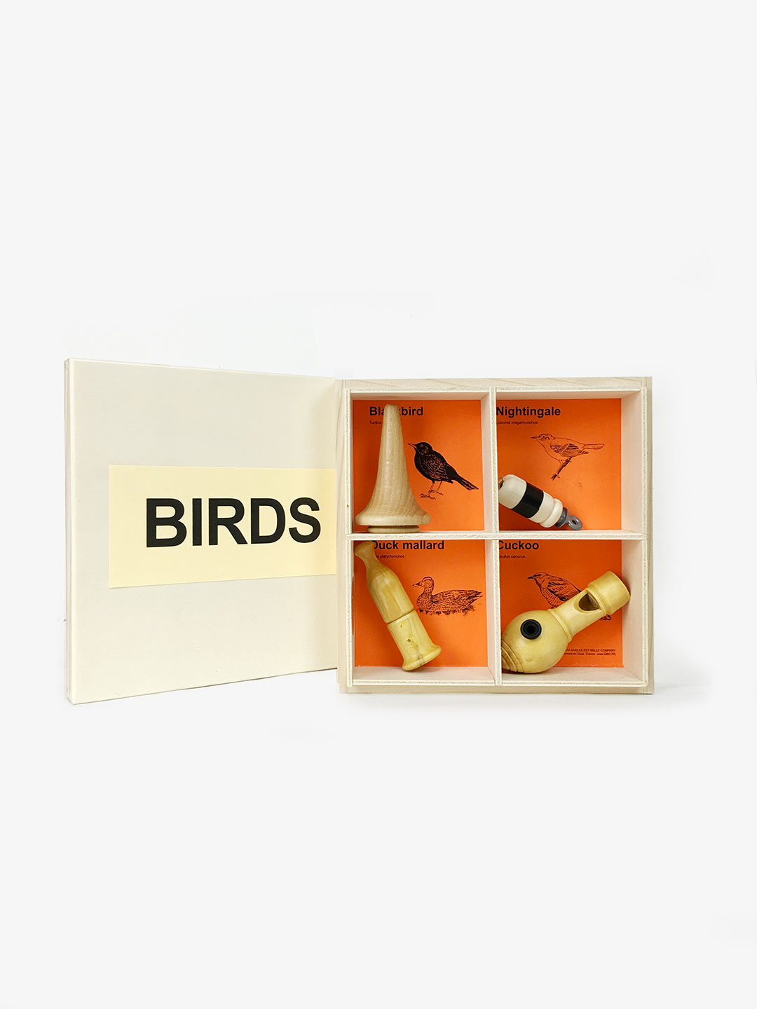 4 Nests Bird Calls Gift Box