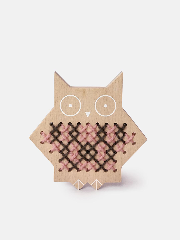 Cross Stitch Friends - Owl