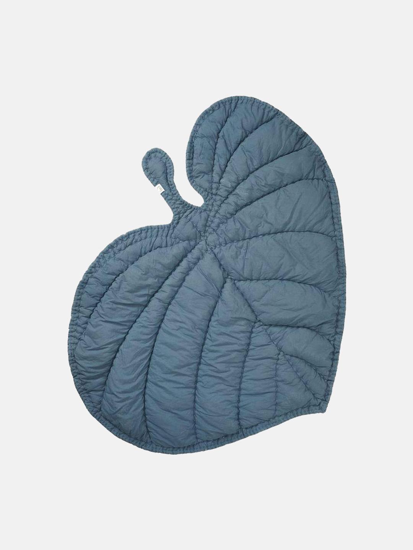 Leaf Blanket - Petroleum