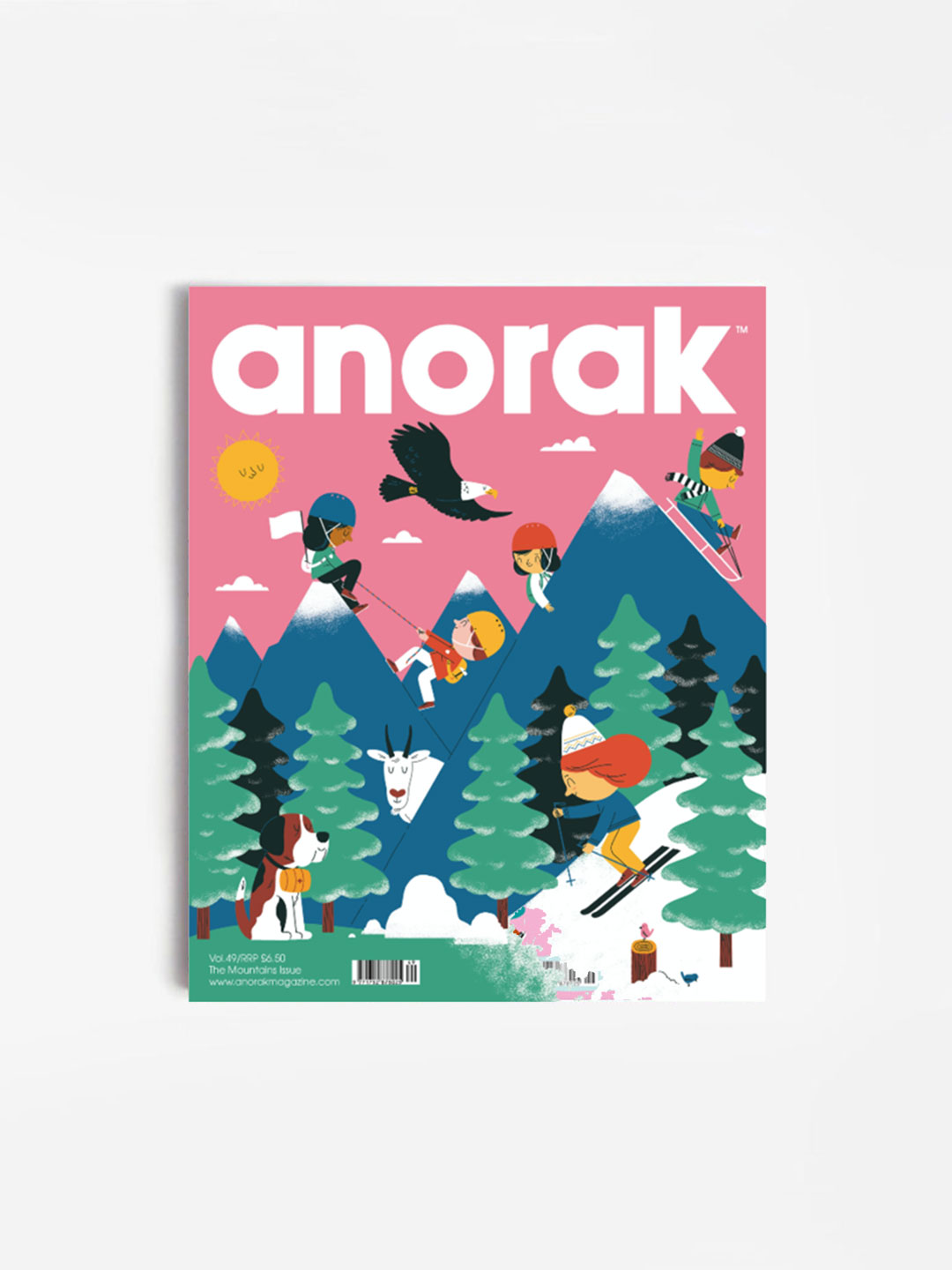Anorak Magazine – Mountains
