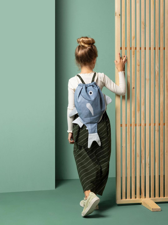 Silver Biddy Kids Backpack - Blue