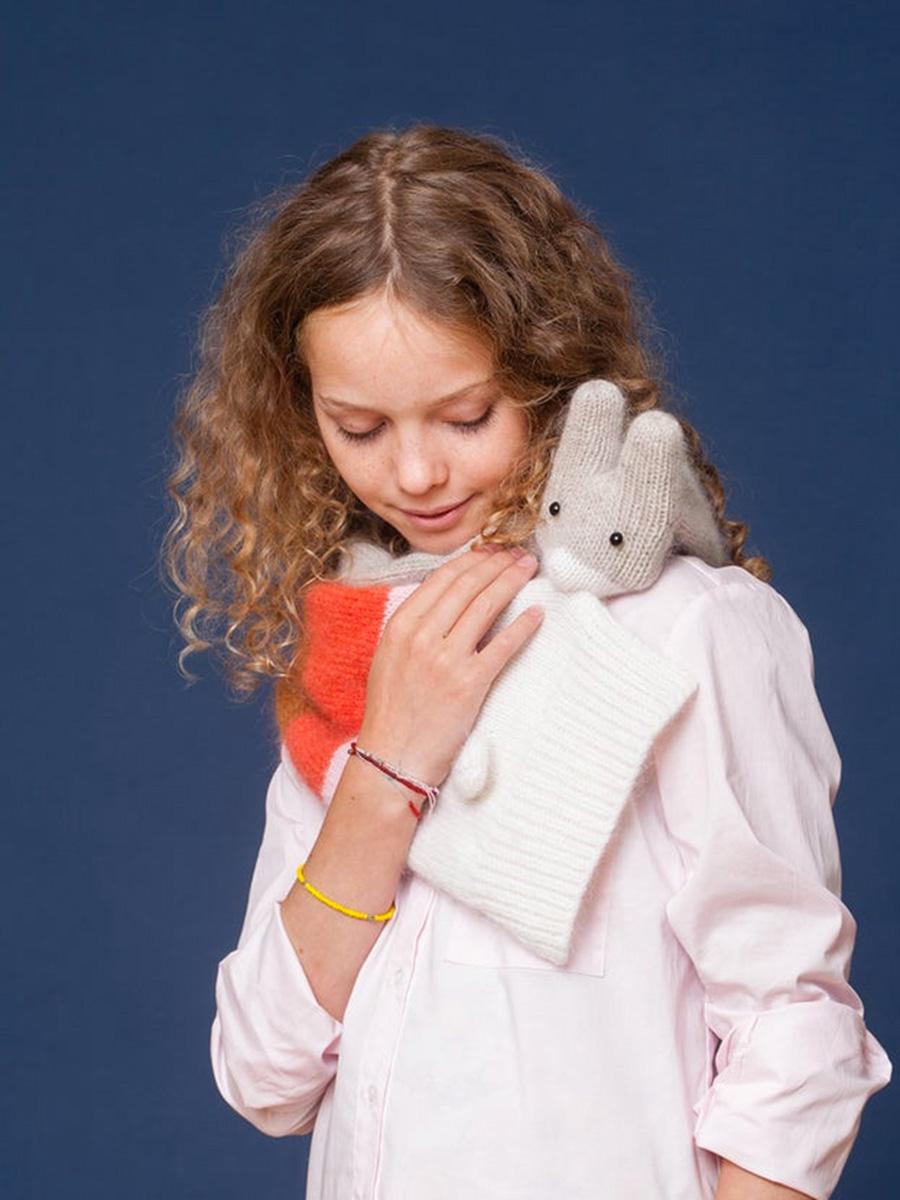 Kids Bunny Merino Scarf