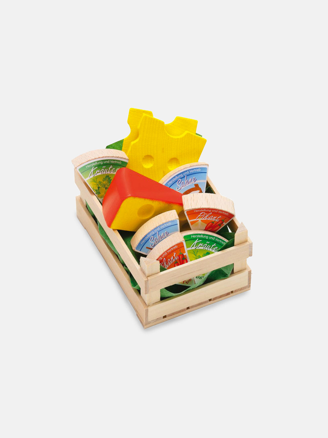 Wooden Food - Small Assorted Cheese